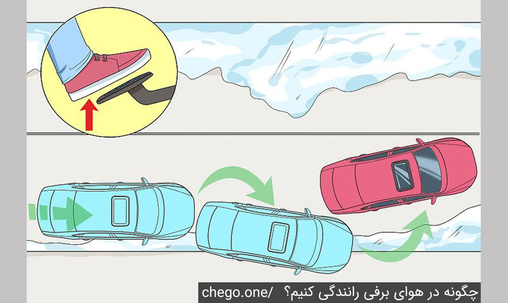 چگونه در برف رانندگی کنیم؟