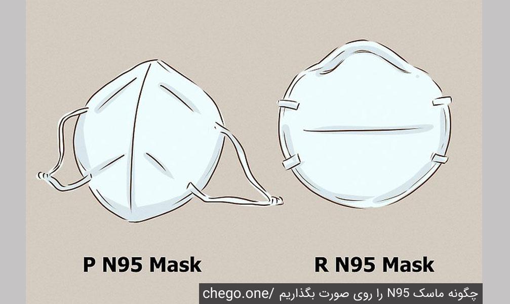 الف) 2. اگر در معرض جو روغنی قرار دارید از ماسک R یا P استفاده کنید.