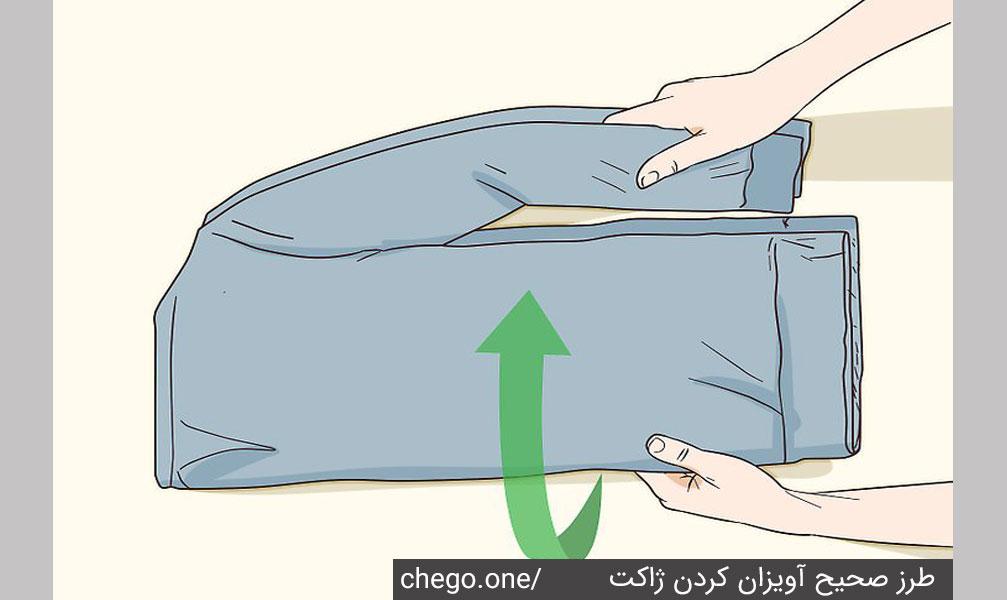 نحوه آویز کردن