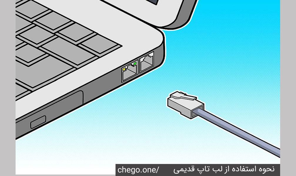 اتصال کابل اترنت