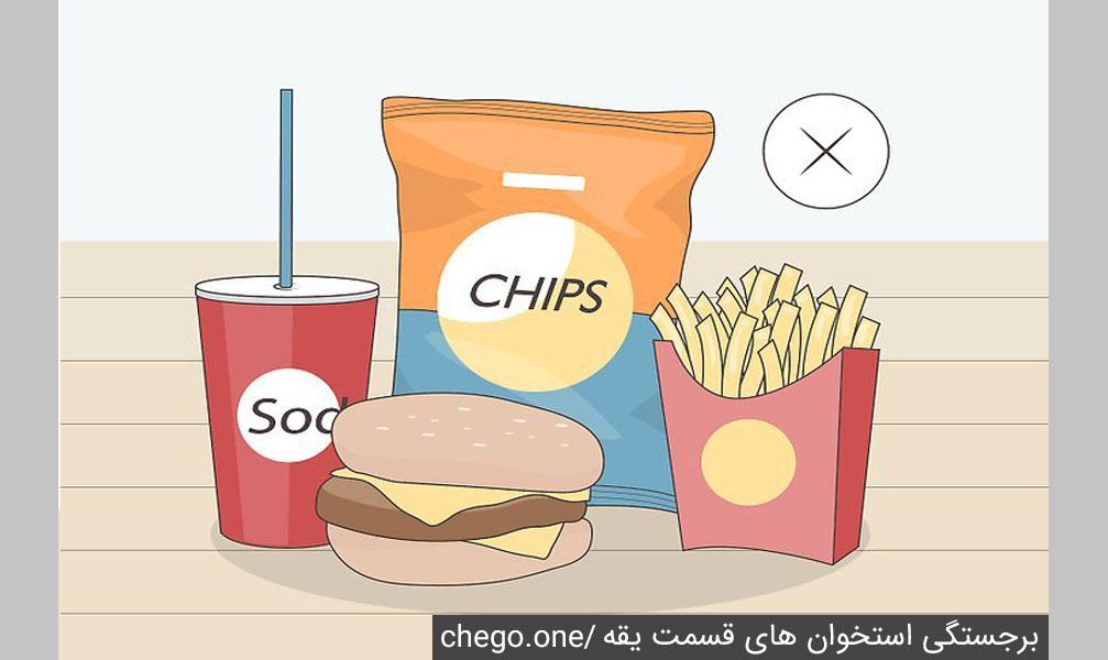 حذف غذاهای نامناسب