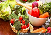 برنامه رژیم غذایی