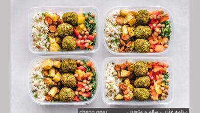 برنامه غذایی سالم و متعادل